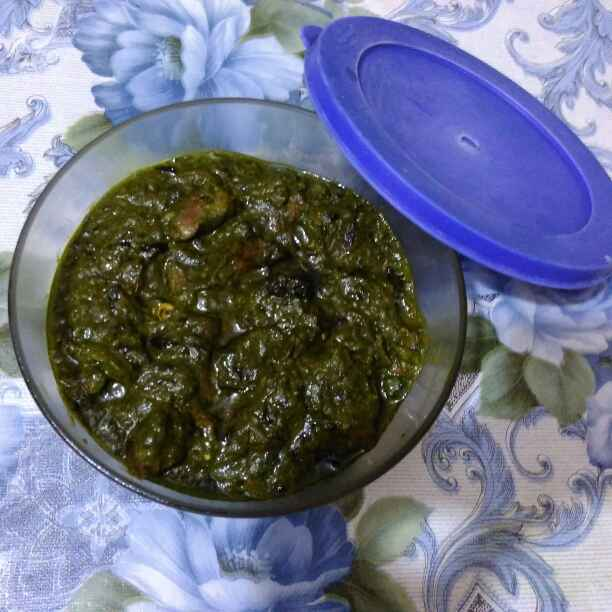 How to make Saag meat