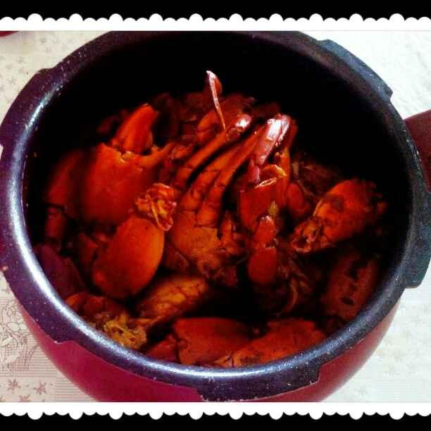 How to make Crab kosha