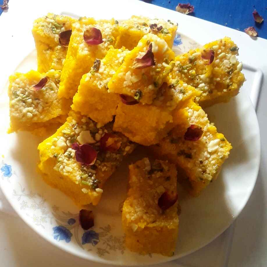 Photo of Egg barfi by Sukanya Biswas at BetterButter