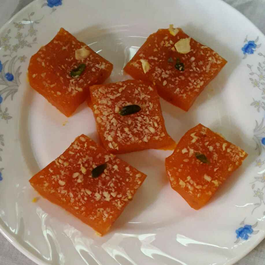 Photo of Orange Halwa by Sukanya Biswas at BetterButter