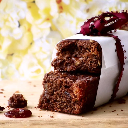 How to make Whole Wheat Chocolate Fruit and Nut Bar