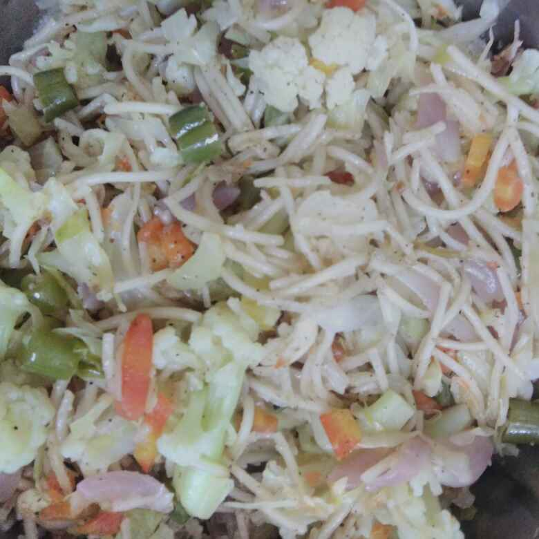 How to make Veg chow