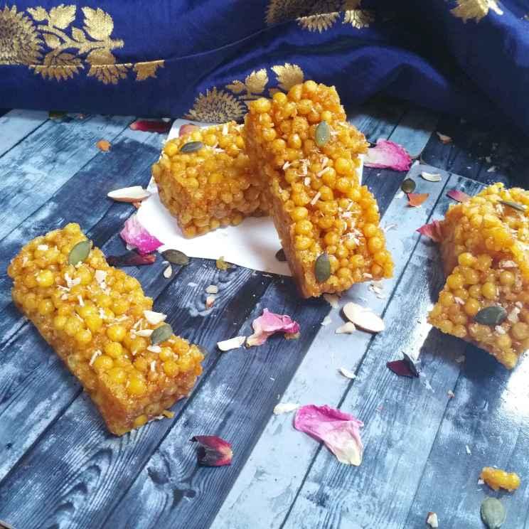 How to make బూందీ పాకం