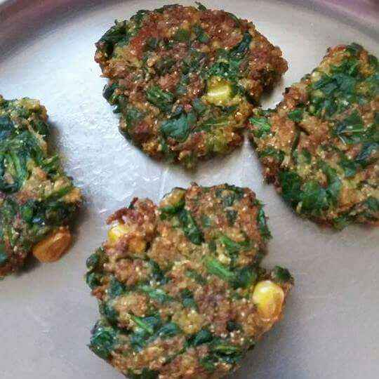 Photo of Veggies and Spinach Fritters by Sulbha Bathwal at BetterButter