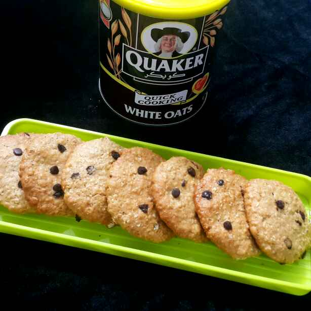 Photo of Oats peanutbutter cookies by Sumaiya Arafath at BetterButter