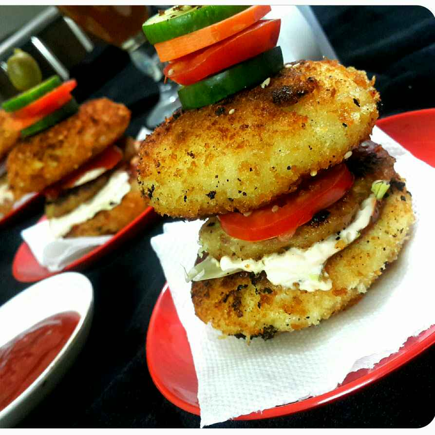 Photo of Idli burger by Sumaiya Arafath at BetterButter
