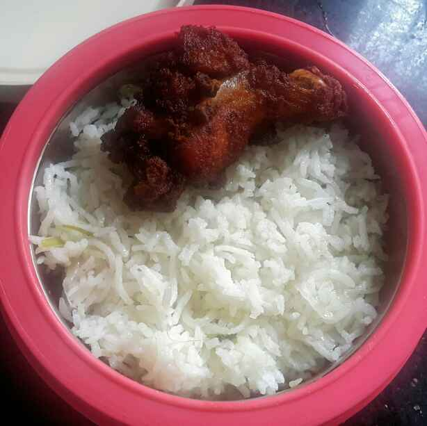 Photo of Ghee rice and chicken fry by Sumaiya Arafath at BetterButter