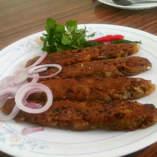 Photo of Raw banana seekh kabab by Sumaiya Arafath at BetterButter