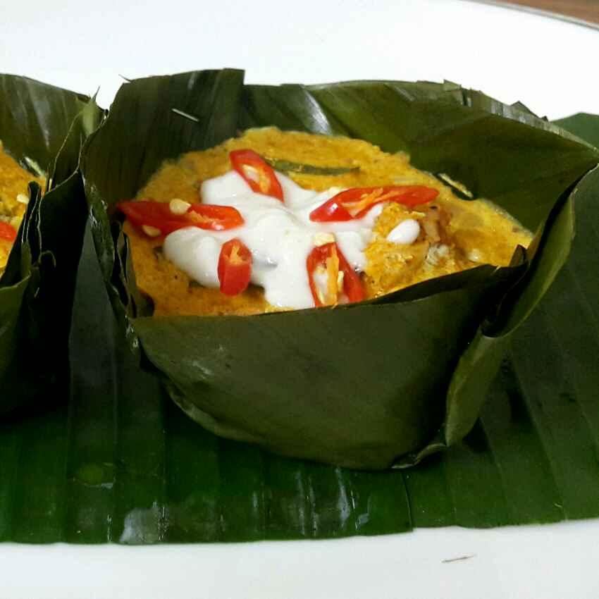 Photo of Thai hor mok kai(chicken custard) by Sumaiya Arafath at BetterButter