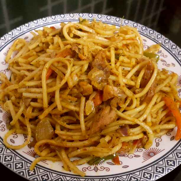 Photo of Schezwan noodles by Sumaiya Arafath at BetterButter