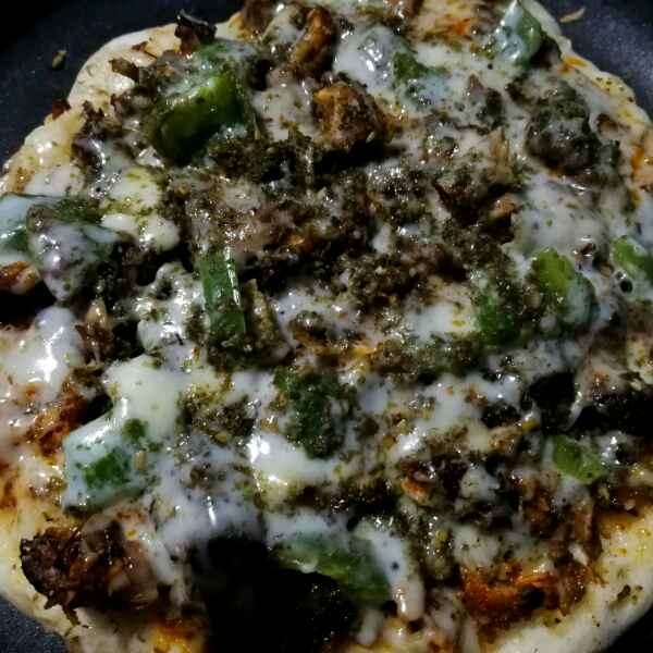 Photo of Spicy pepper beef pizza by Sumaiya Arafath at BetterButter