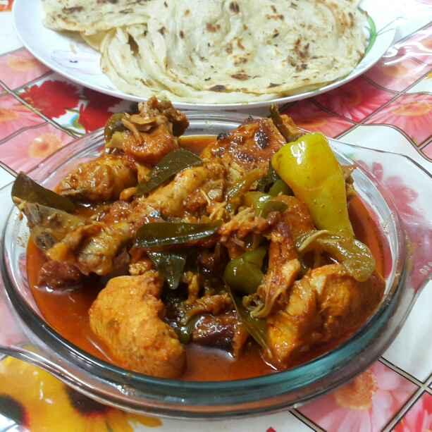 Photo of Hot garlic chicken by Sumaiya Arafath at BetterButter