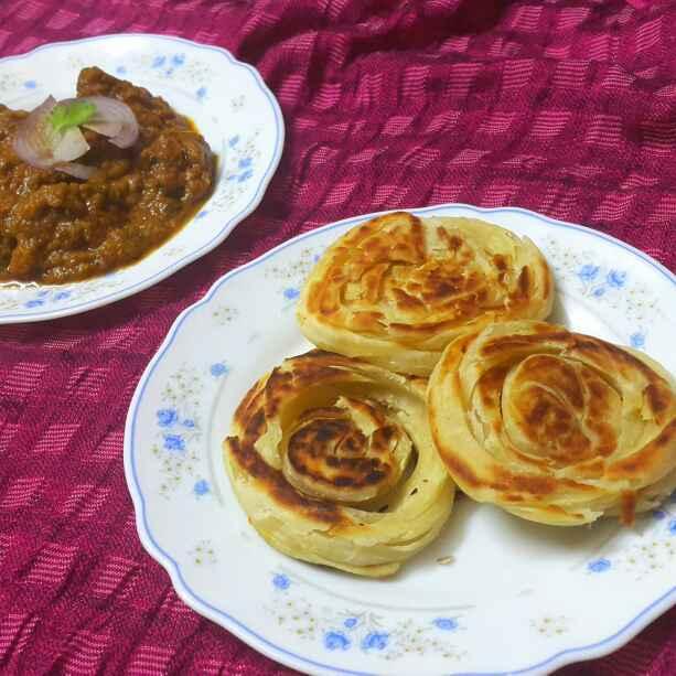Photo of Madurai special bun parotta by Sumaiya Arafath at BetterButter