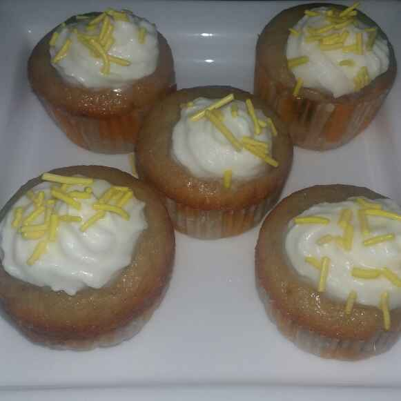 Photo of Banana muffins with coconut cream by Sumaiya shafi at BetterButter