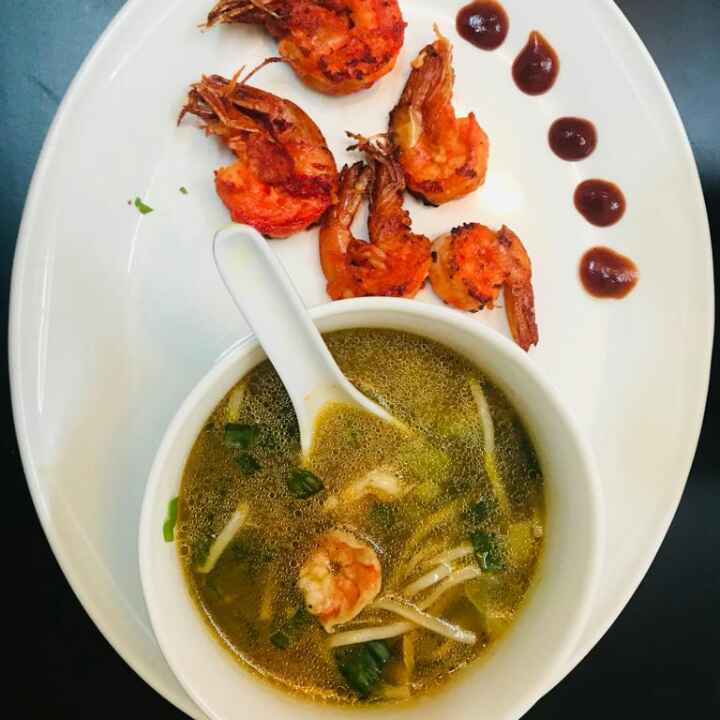 Photo of Hot n Sour Prawns Soup by Sumaiya shafi at BetterButter