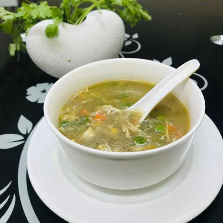 How to make chicken veg soup