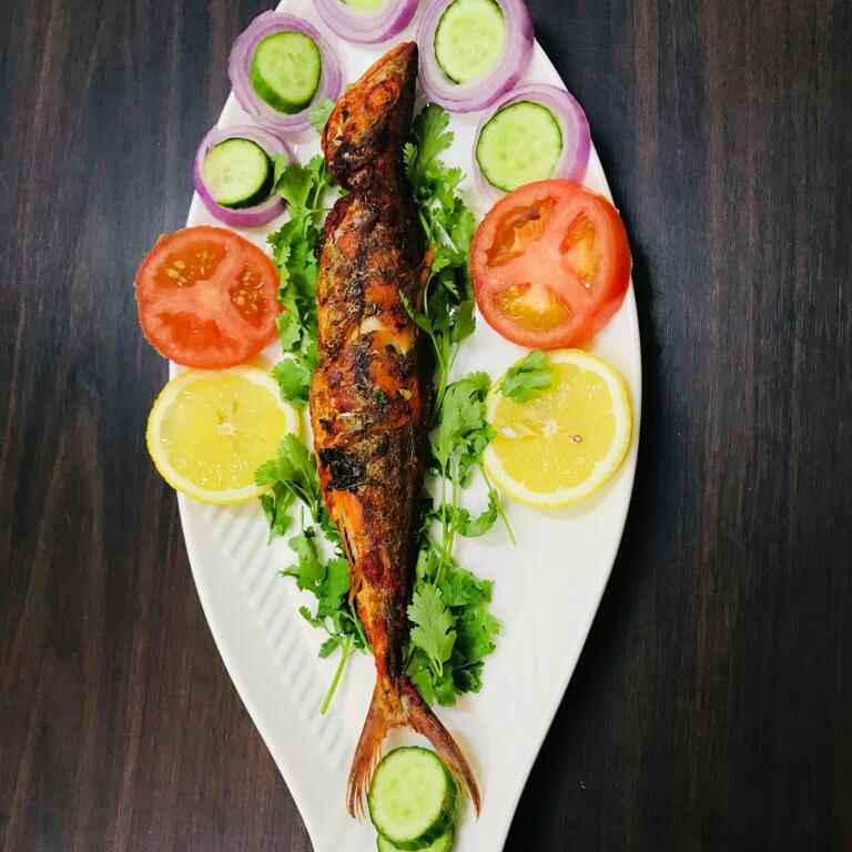 Photo of Spicy Baked Tandoori Fish by Sumaiya shafi at BetterButter