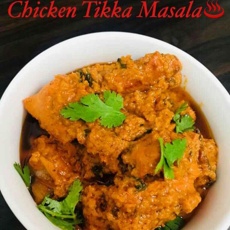 Photo of Spicy Chicken Tikka Masala by Sumaiya shafi at BetterButter
