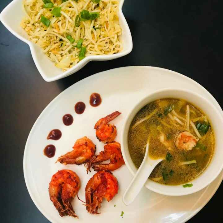 Photo of Hot and Sour prawn Noodles Souo by Sumaiya shafi at BetterButter