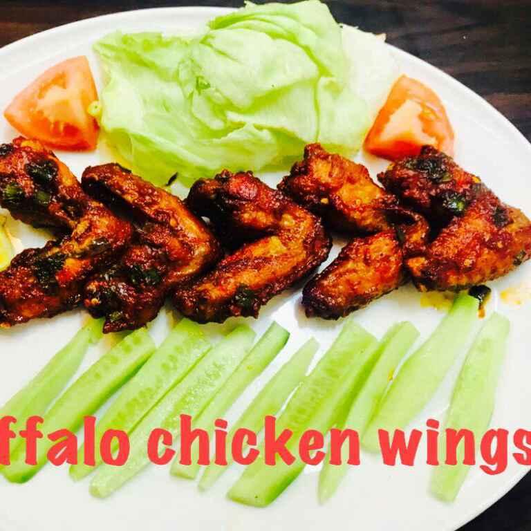 Photo of Hot buffalo chicken wings by Sumaiya shafi at BetterButter