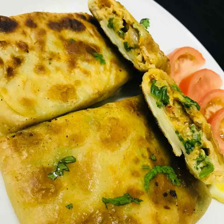 Photo of Saudi arabia street food murtabak by Sumaiya shafi at BetterButter