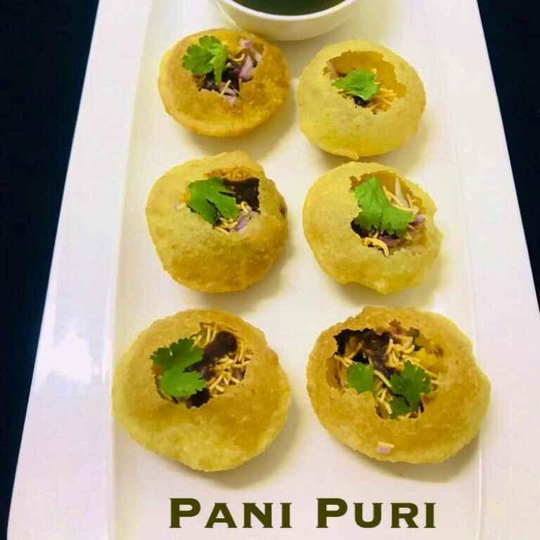 Photo of Mumbai Street Food Spl Pani Puri by Sumaiya shafi at BetterButter