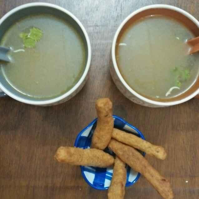 Photo of Veg soup with semolina sticks by Sumita Bandyopadhyay at BetterButter