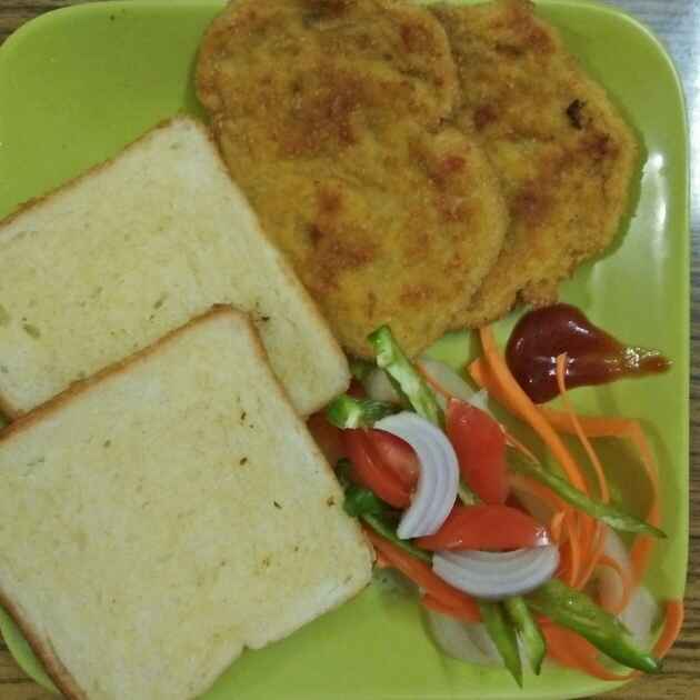 Photo of Bread toast with chicken patti by Sumita Bandyopadhyay at BetterButter