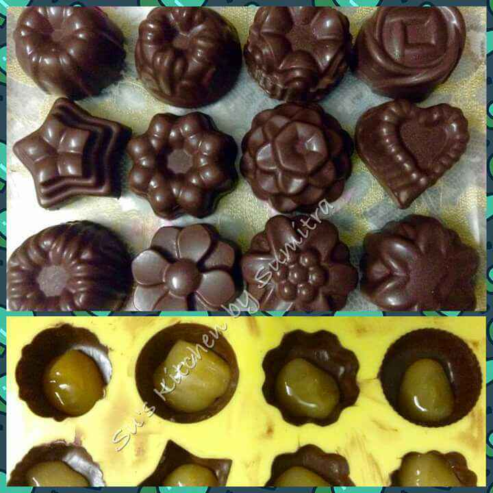 How to make Center filled Mango Chocolates