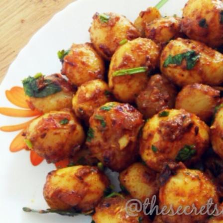 Photo of Chatpate Baby Potatoes by Sumiya Tariqh at BetterButter