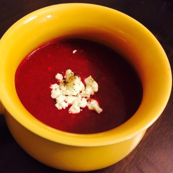 Photo of Red beet soup by Sunaina Kapoor at BetterButter