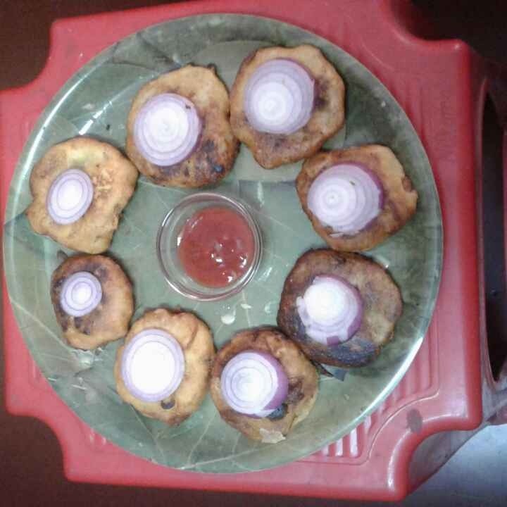 Photo of Potato fritters Kolkata style by Sunanda Jash at BetterButter