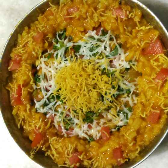 Photo of Dal kichadi with Cheese and shev by Sunil Chavan at BetterButter
