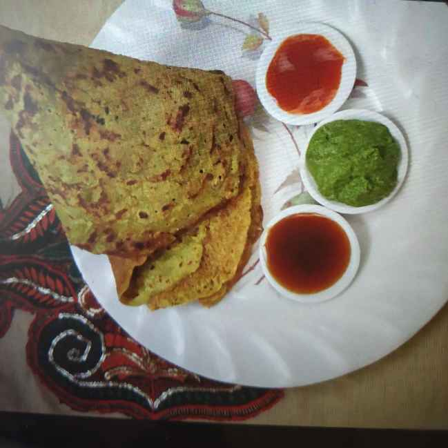 How to make Instant moong chila..