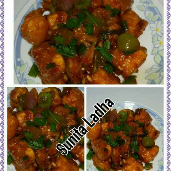Photo of Paneer manchuriyan by Sunita Ladha at BetterButter