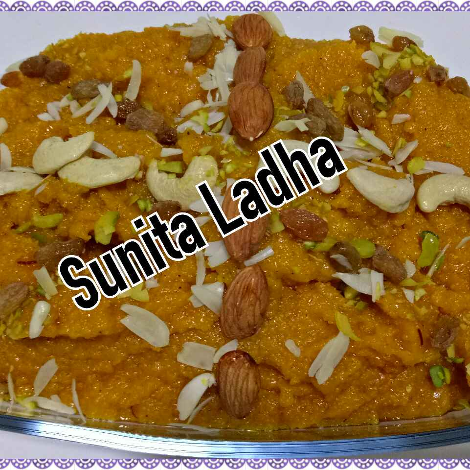 Photo of Sooji mango halwa by Sunita Ladha at BetterButter