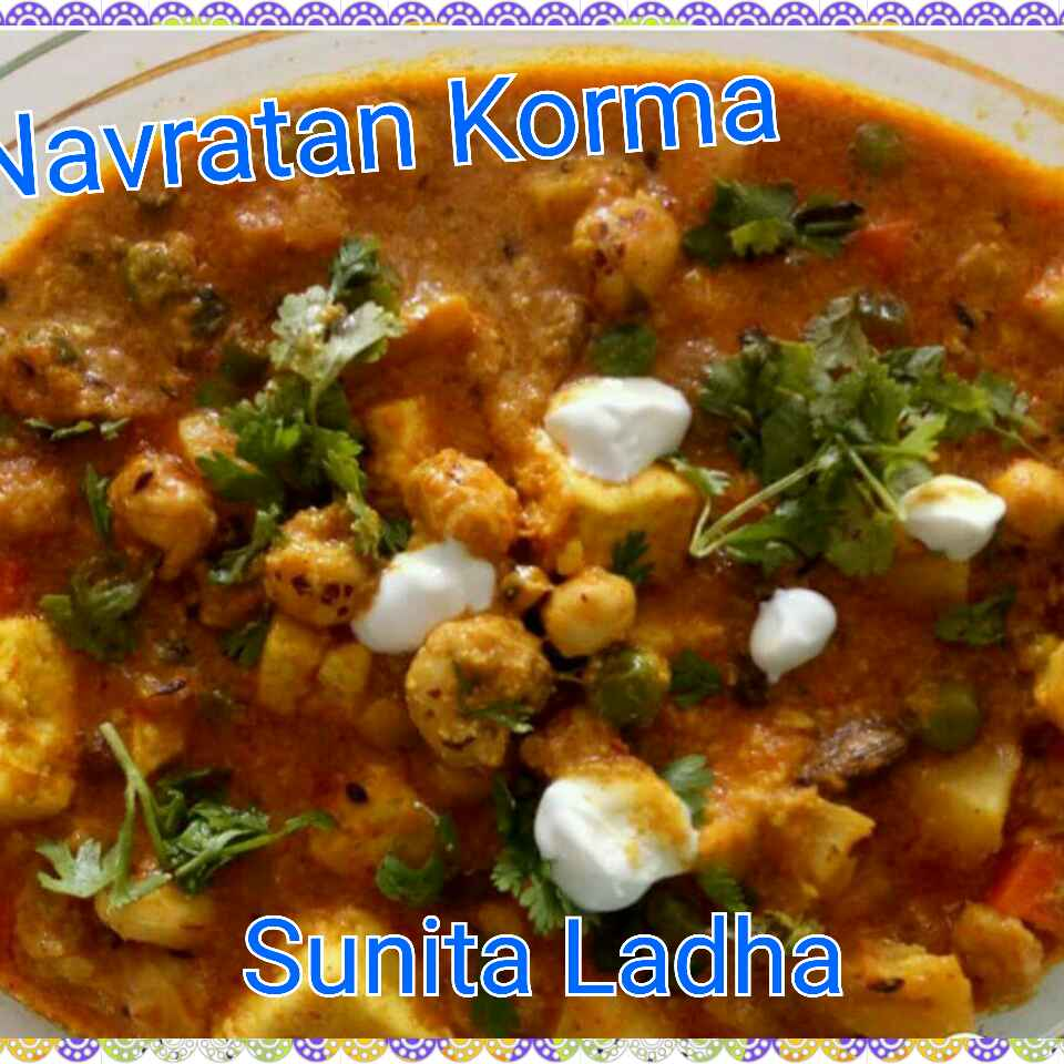 Photo of Navratn korma by Sunita Ladha at BetterButter