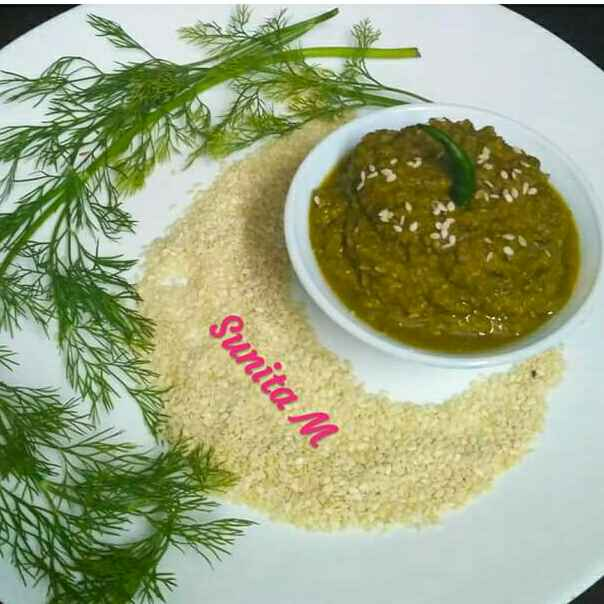Photo of Sesame Chutney by Sunita Maheshwari at BetterButter