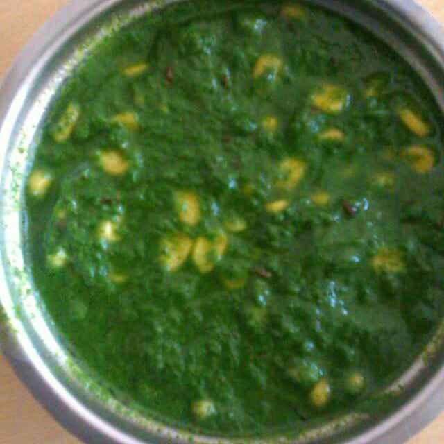 Photo of Jain palak corn curry by Sunita Maloo at BetterButter