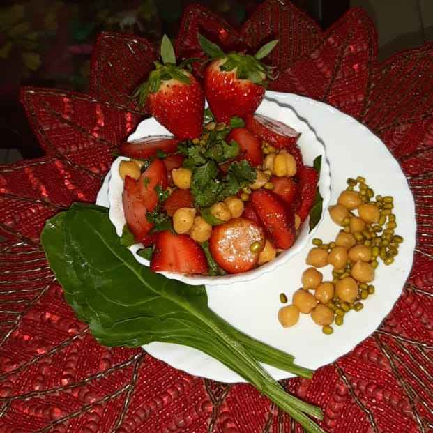 Photo of Strawberry Chaat by Sunita Shah at BetterButter