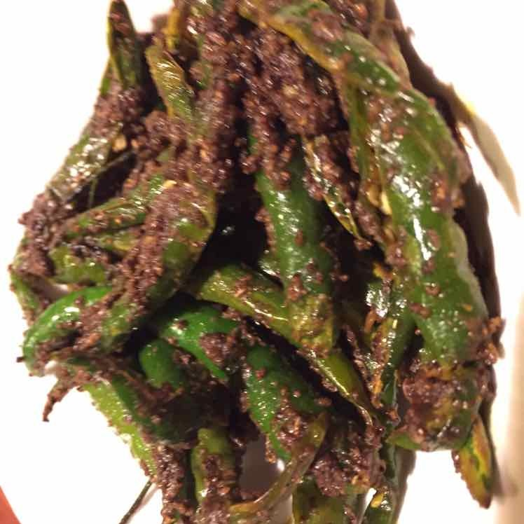 How to make Instant green chilli pickle
