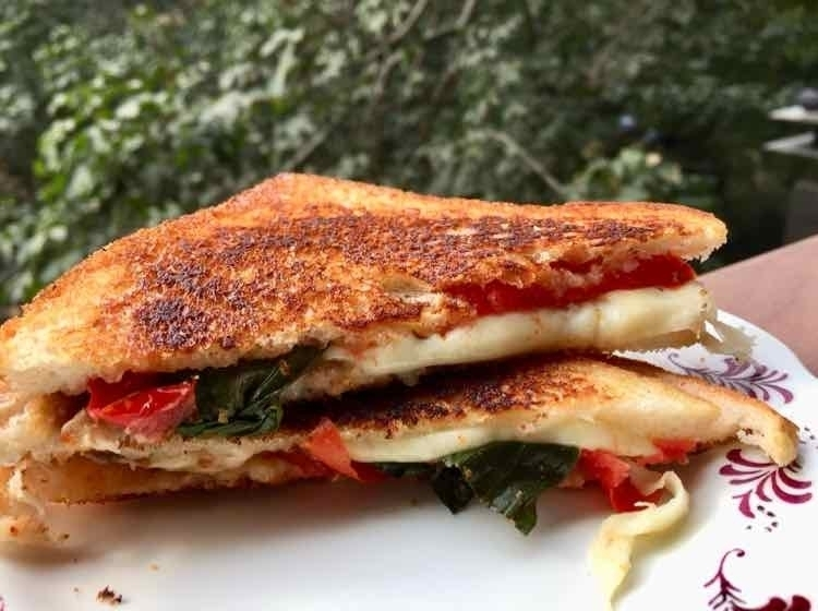 How to make Caprese Sandwich
