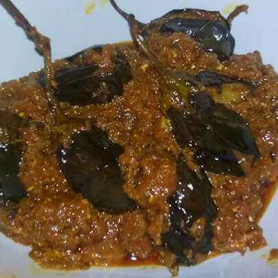 How to make Achaari Baingan