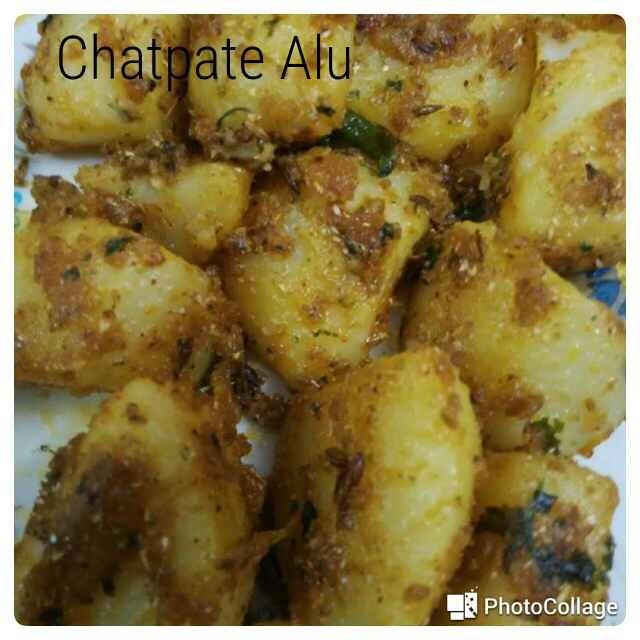 Photo of Chatpate aalu by Supriya Bhatia at BetterButter