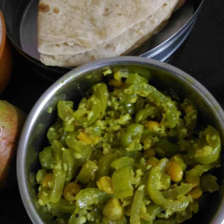 Photo of padwal chanadaal ani chapati by supriya padave (krupa rane) at BetterButter