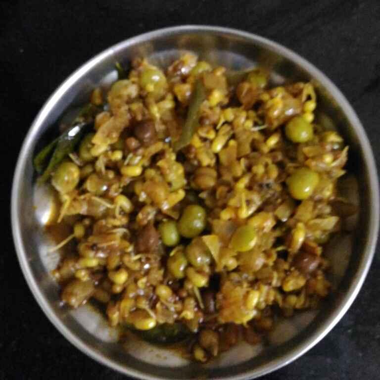 Photo of mix pulses usal by supriya padave (krupa rane) at BetterButter