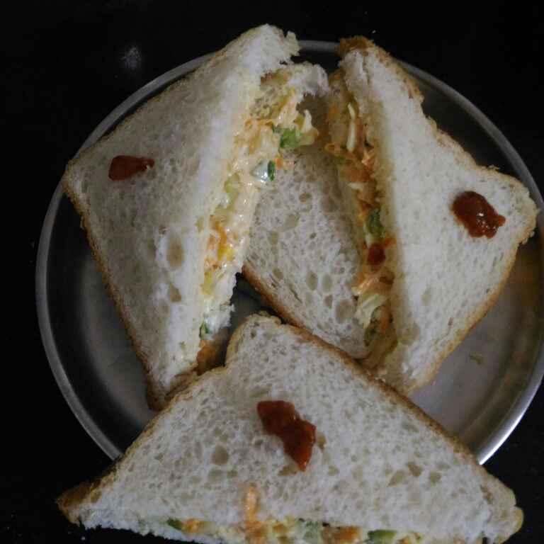 Photo of curd meyo sandwich by supriya padave (krupa rane) at BetterButter
