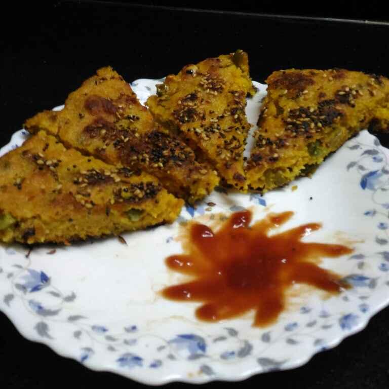 Photo of veg rava handvo by supriya padave (krupa rane) at BetterButter