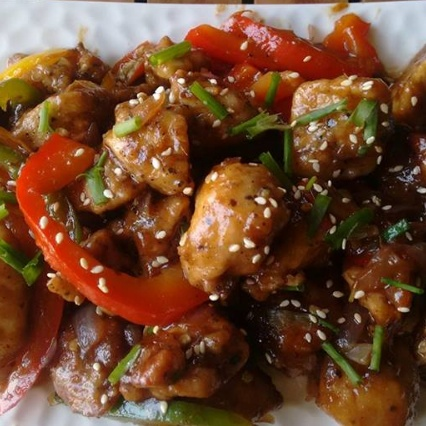How to make SPICY CHICKEN STIR FRY