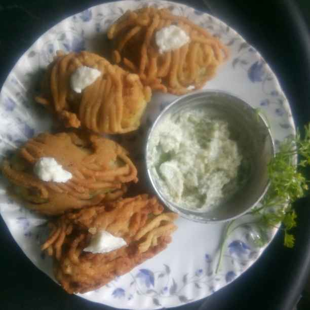 Photo of Potato snack wrapped in farali noodles by Suraksha Pargaonkar at BetterButter